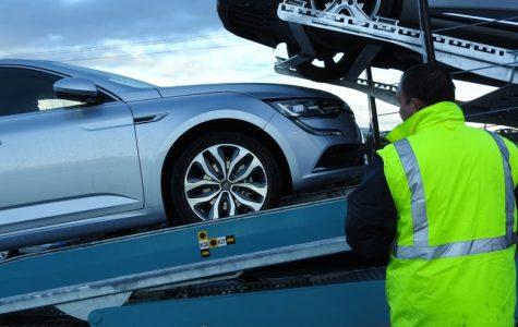 Chargement de véhicules Transports Rabouin