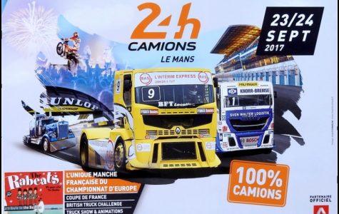 Affiche 24h Camion Le Mans