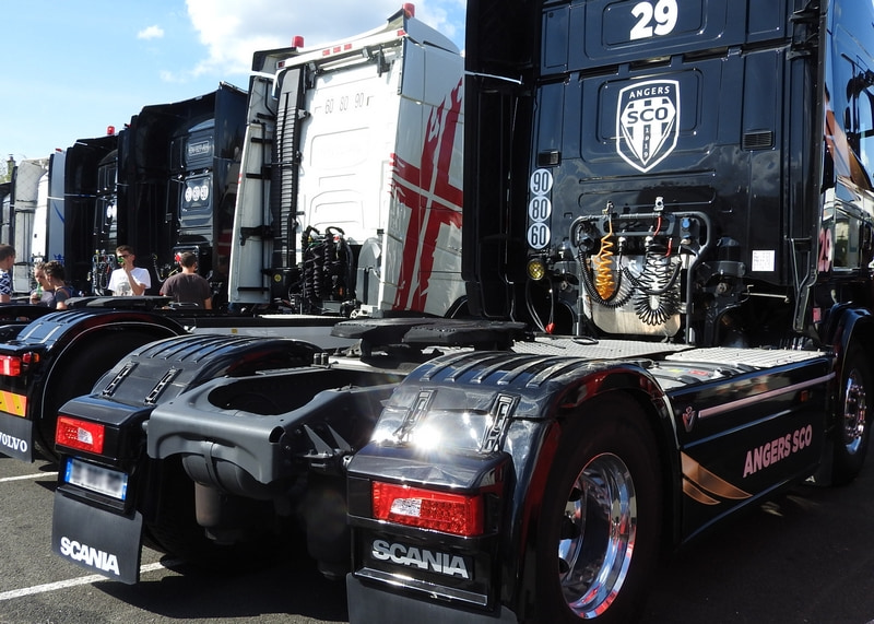 Exposition de camion au Citytruck Festival