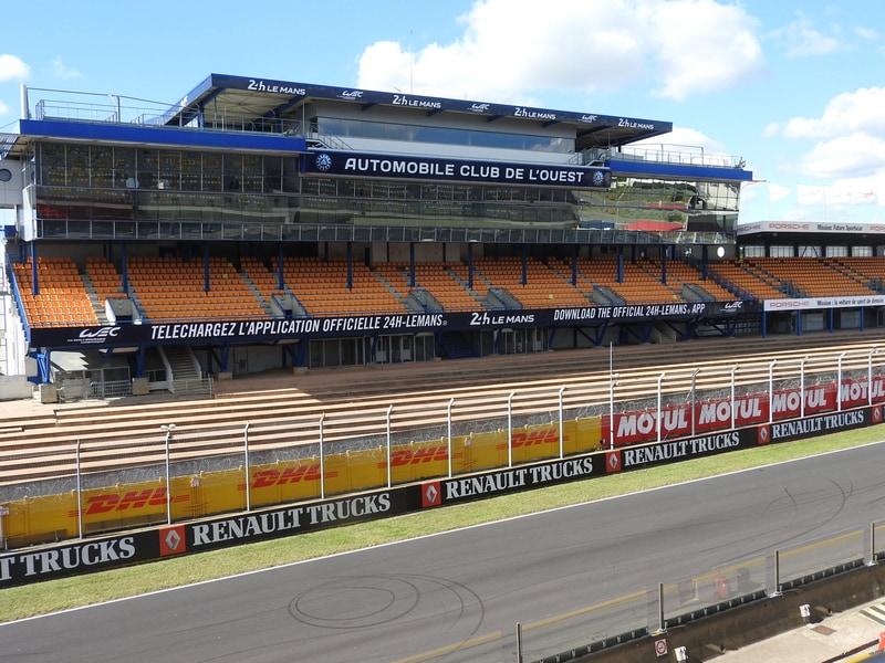 Circuit Bugatti 24 heures Camions Le Mans