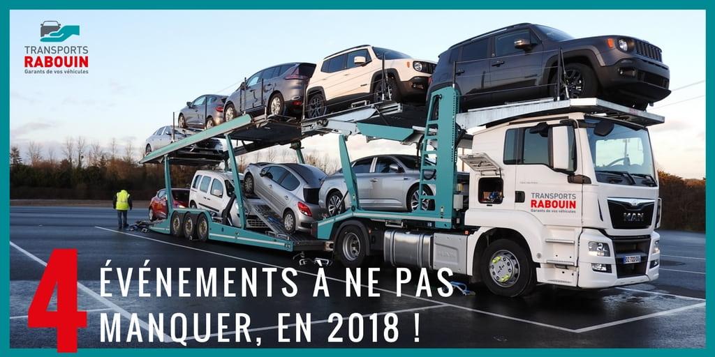 évènements camion à ne pas manquer en 2018