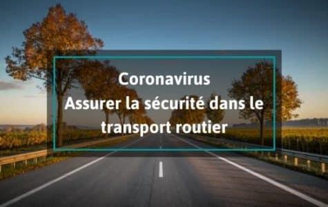coronavirus-sécurité-transport-routier